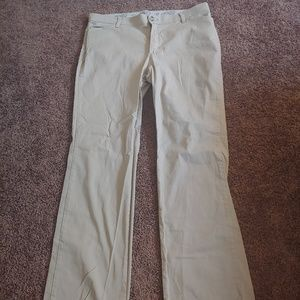 Riders by Lee cream colored straight pants